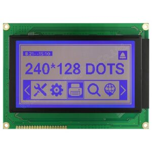 240 x 128 Dots Graphic LCD Display Module